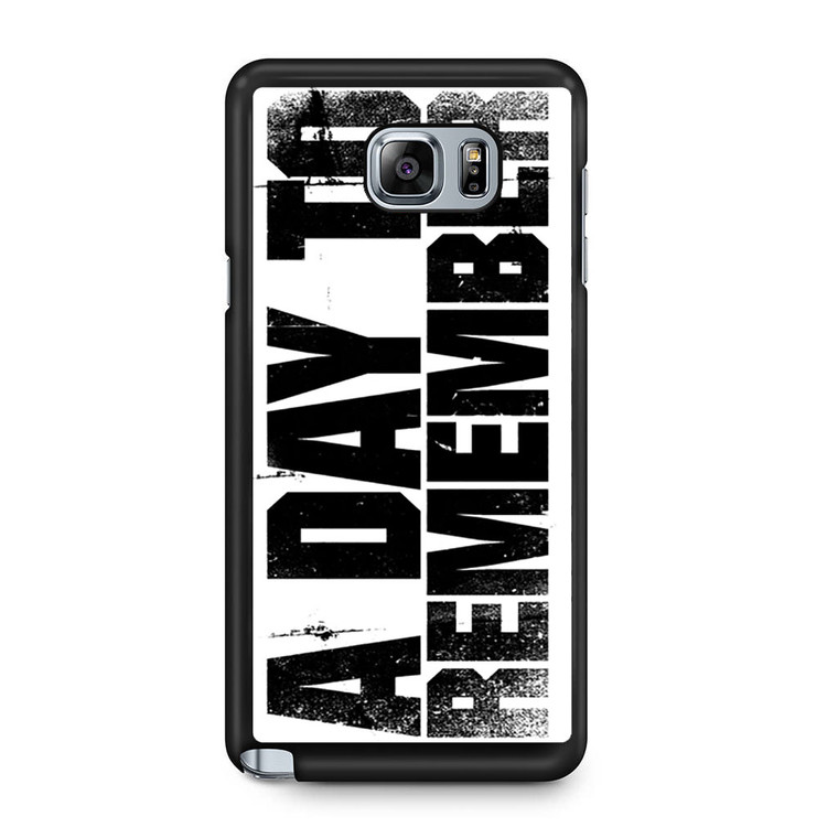 A Day To Remember Samsung Galaxy Note 5 Case