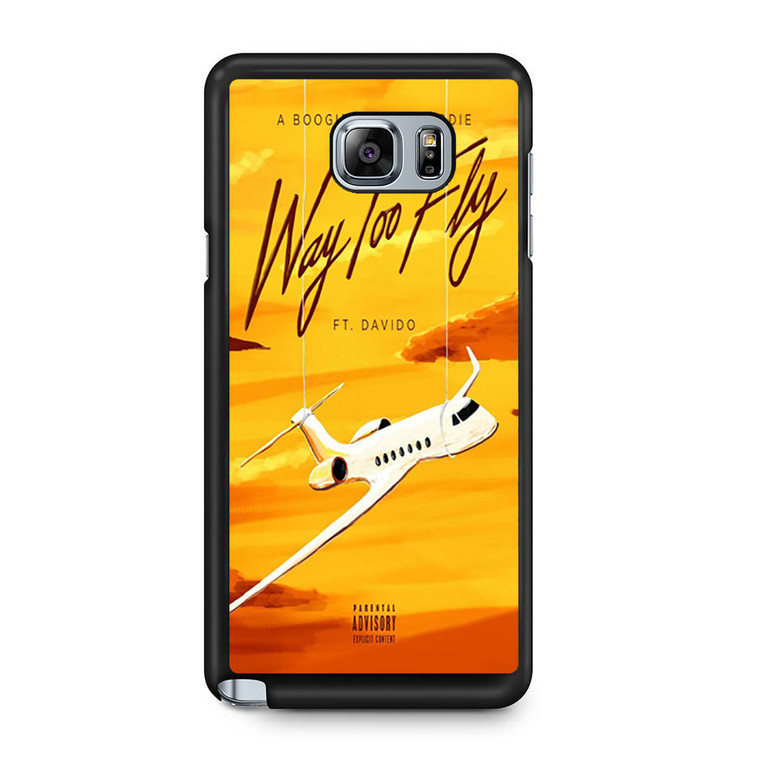 A Boogie Wit Da Hoodie Feat Davido Way Too Fly Samsung Galaxy Note 5 Case