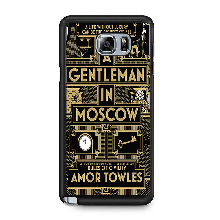 A Gentleman In Moscow Samsung Galaxy Note 5 Case