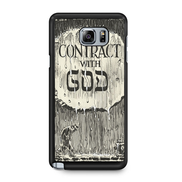 A Contract With God Book Samsung Galaxy Note 5 Case