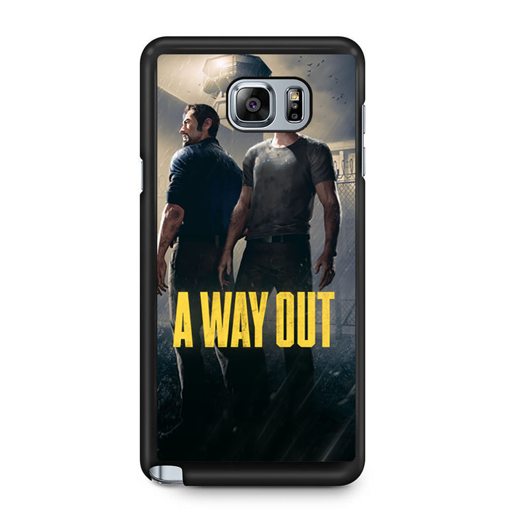 A Way Out Games Samsung Galaxy Note 5 Case