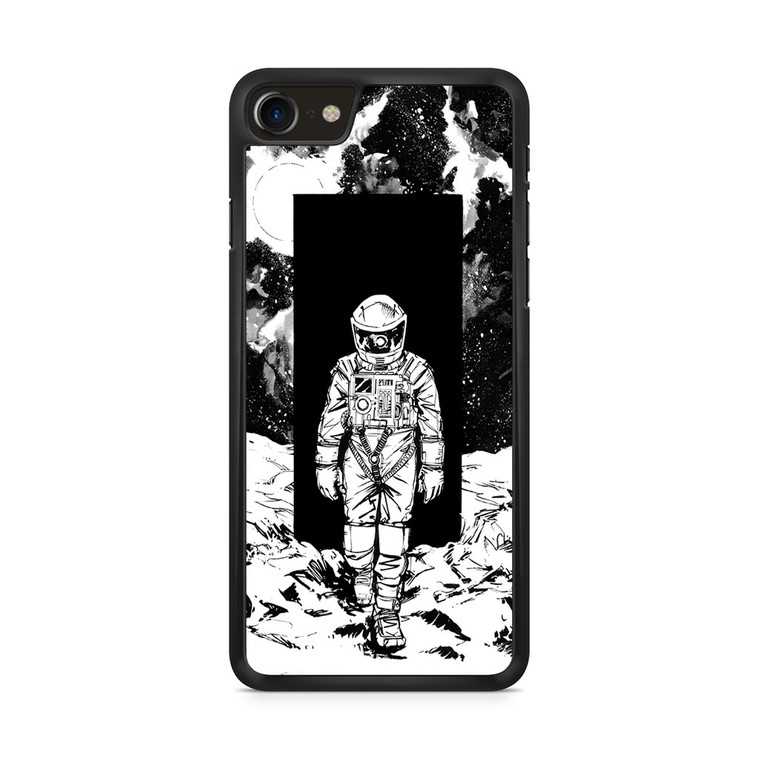 A Space Odyssey 2001 Drawing iPhone 8/ 8 Plus Case