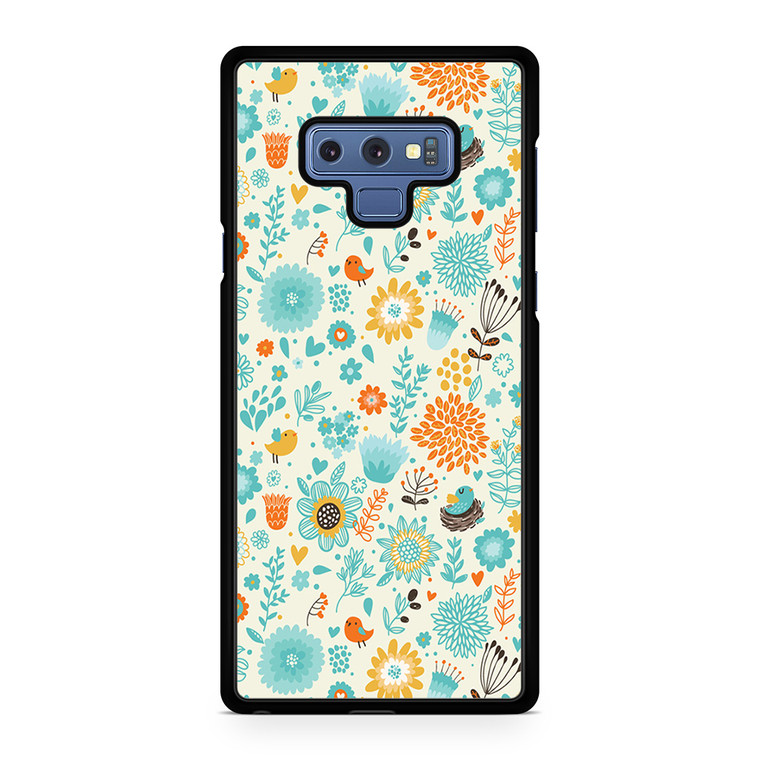 Floral Seamless Patterns 2 Samsung Galaxy Note 9 Case