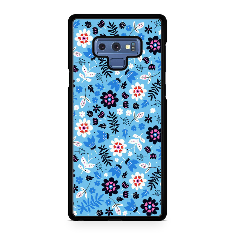 Floral Seamless Patterns Samsung Galaxy Note 9 Case