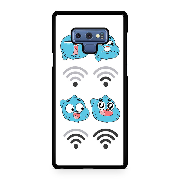 Funny Gumball Faces Samsung Galaxy Note 9 Case