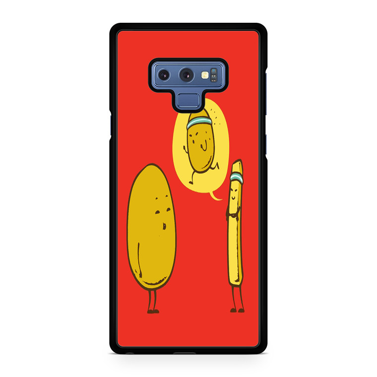 Funny Potato And French Fry Cartoon Samsung Galaxy Note 9 Case