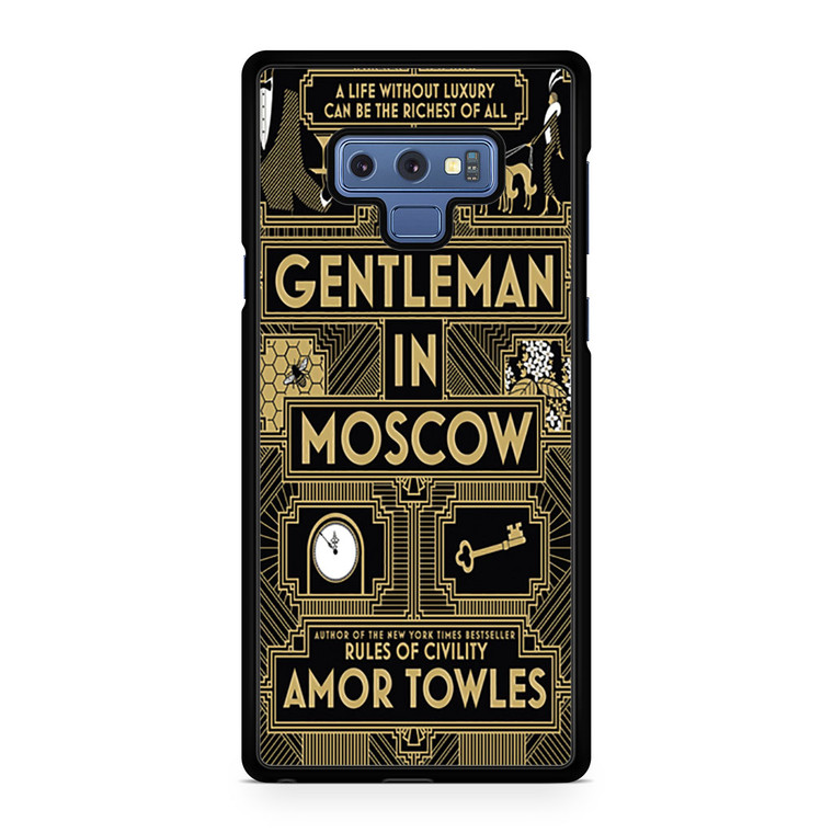 A Gentleman In Moscow Samsung Galaxy Note 9 Case