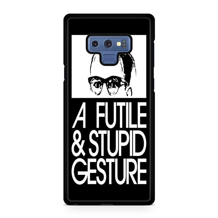 A Futile And Stupid Gesture Movie Samsung Galaxy Note 9 Case
