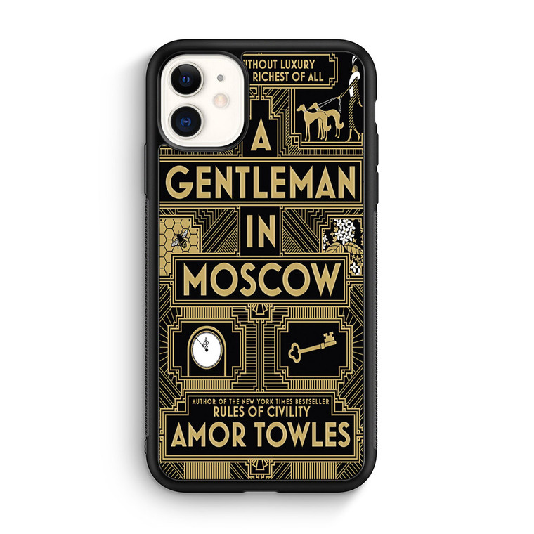 A Gentleman In Moscow iPhone 11/11 Pro/11 Pro Max Case