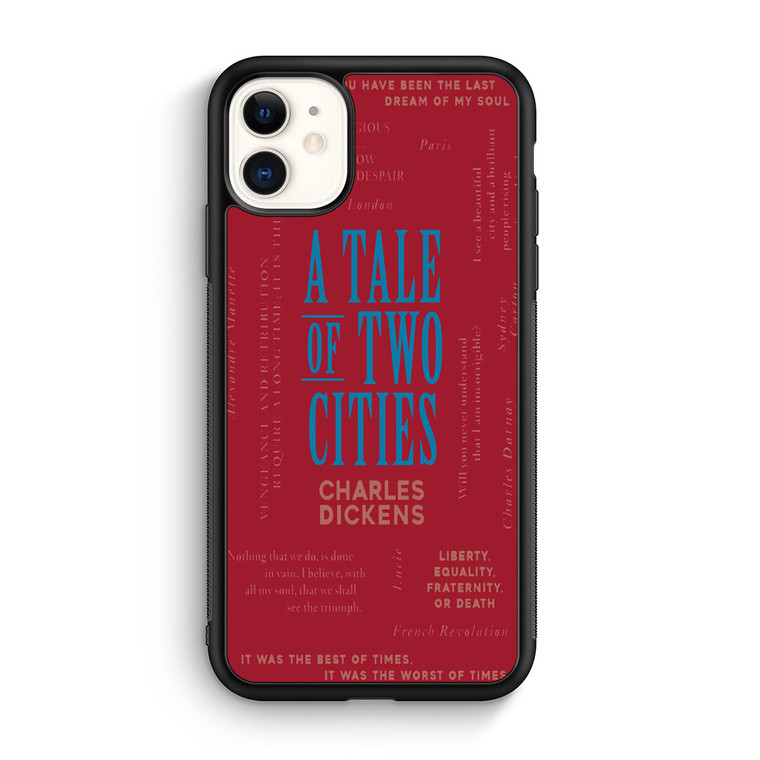 A Tale Of Two Cities By Charles Dickens iPhone 11/11 Pro/11 Pro Max Case