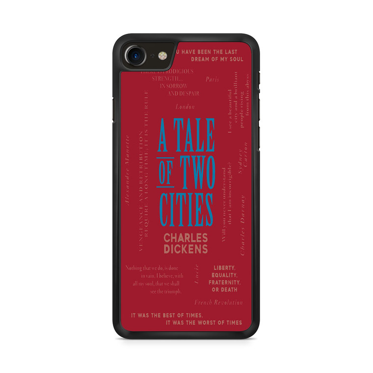 A Tale Of Two Cities By Charles Dickens iPhone 8/ 8 Plus Case