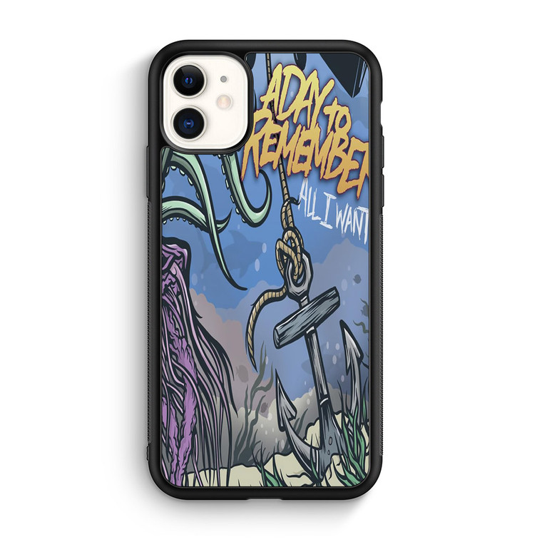 A Day To Remember All I Want iPhone 11/11 Pro/11 Pro Max Case