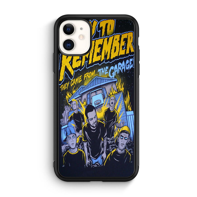 A Day To Remember They Came From The Garage iPhone 11/11 Pro/11 Pro Max Case