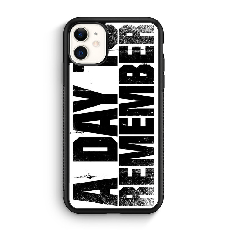 A Day To Remember iPhone 11/11 Pro/11 Pro Max Case
