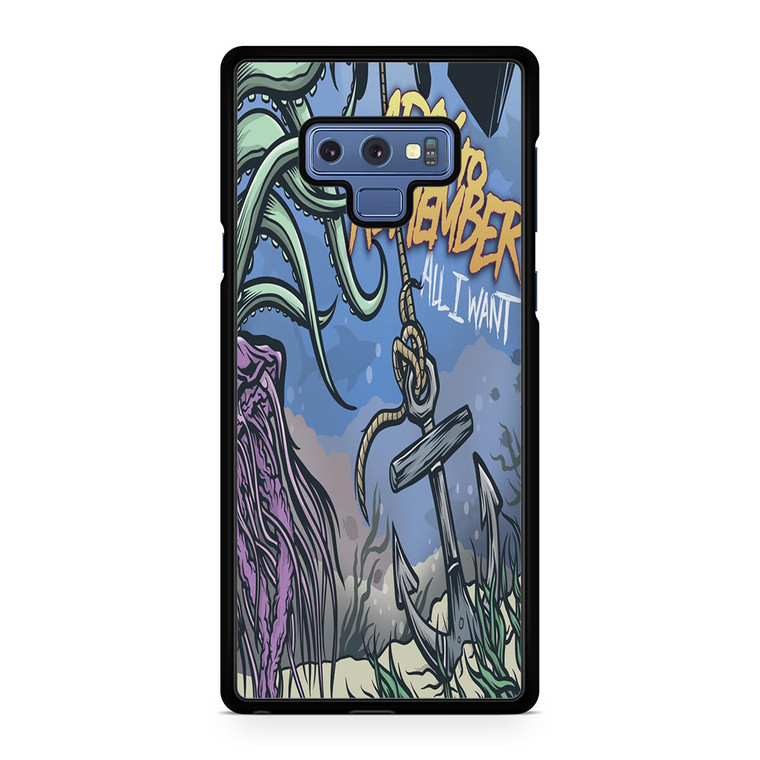 A Day To Remember All I Want Samsung Galaxy Note 9 Case