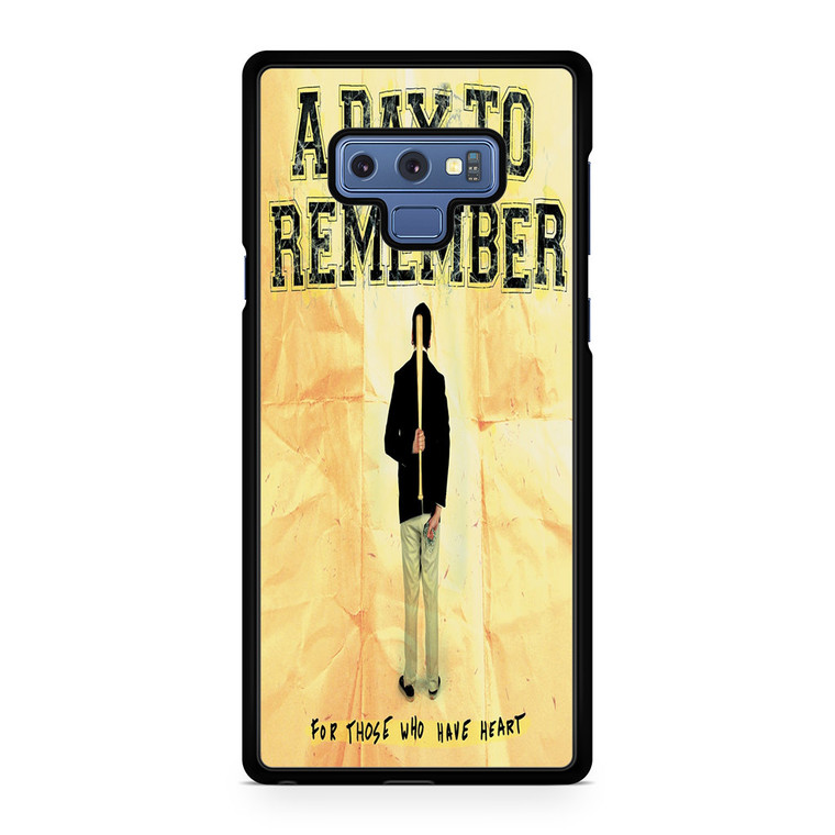 A Day To Remember For Those Who Have Heart Samsung Galaxy Note 9 Case