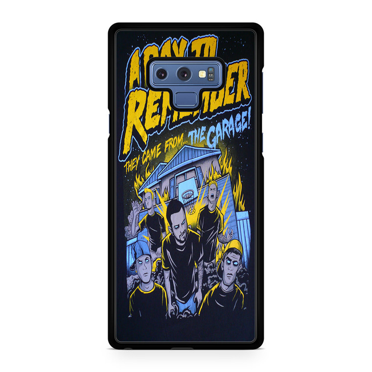 A Day To Remember They Came From The Garage Samsung Galaxy Note 9 Case