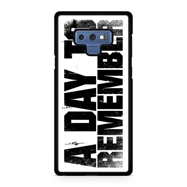 A Day To Remember Samsung Galaxy Note 9 Case