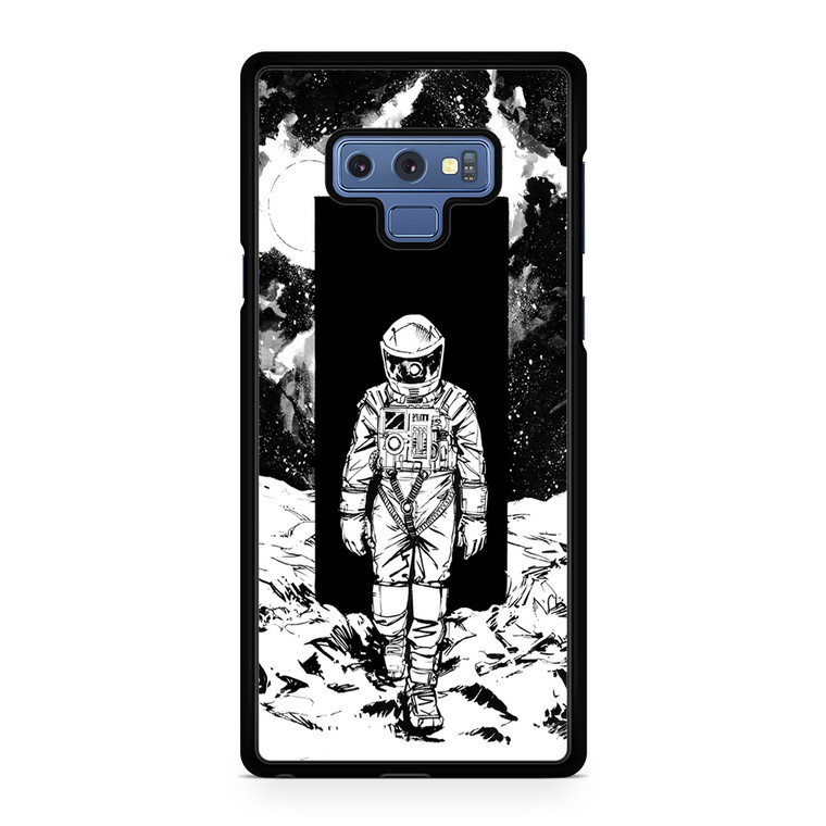 A Space Odyssey 2001 Drawing Samsung Galaxy Note 9 Case