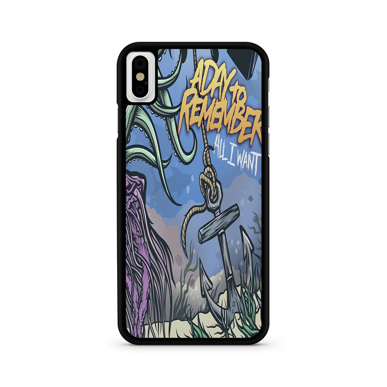 A Day To Remember All I Want iPhone X/ XS/ XS Max Case