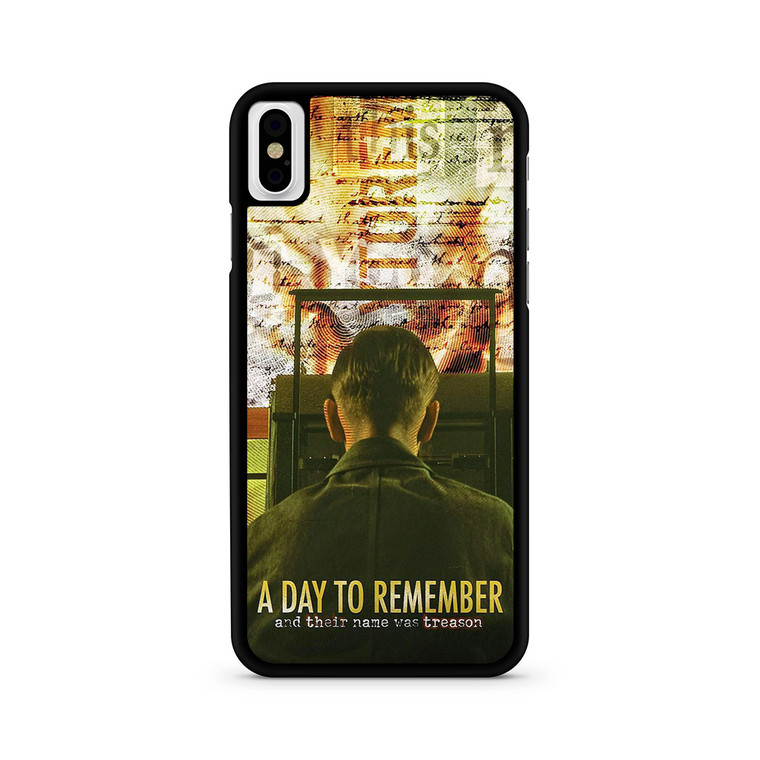 A Day To Remember Discografia iPhone X/ XS/ XS Max Case