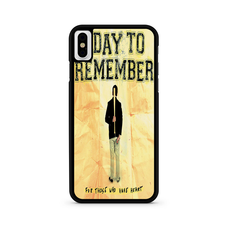 A Day To Remember For Those Who Have Heart iPhone X/ XS/ XS Max Case