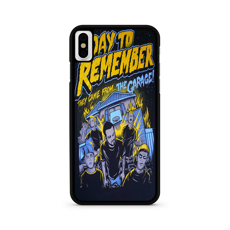 A Day To Remember They Came From The Garage iPhone X/ XS/ XS Max Case