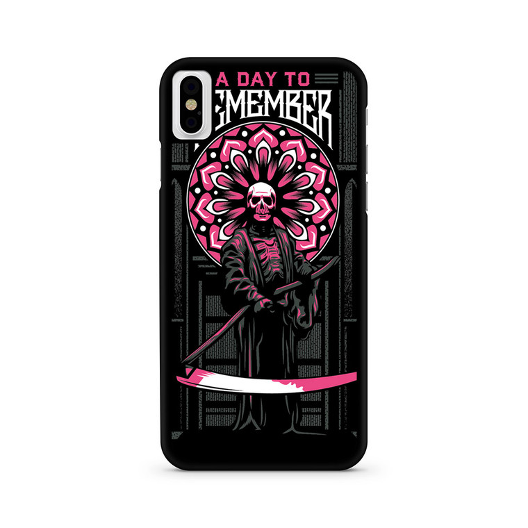A Day To Remember Tour iPhone X/ XS/ XS Max Case