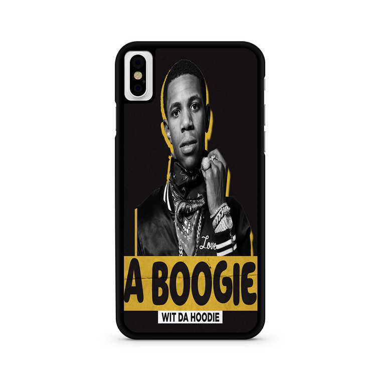 A Boogie Wit Da Hoodie Tickets iPhone X/ XS/ XS Max Case