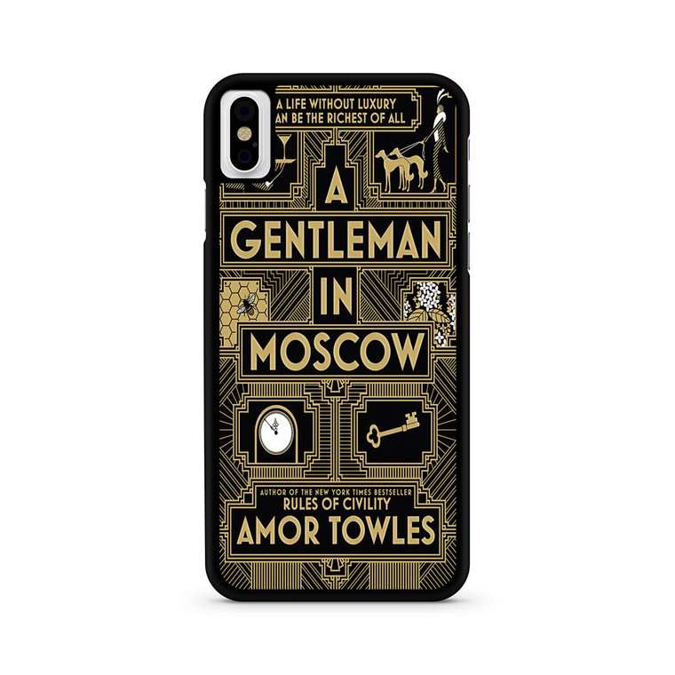 A Gentleman In Moscow iPhone X/ XS/ XS Max Case