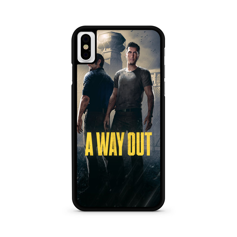 A Way Out Games iPhone X/ XS/ XS Max Case