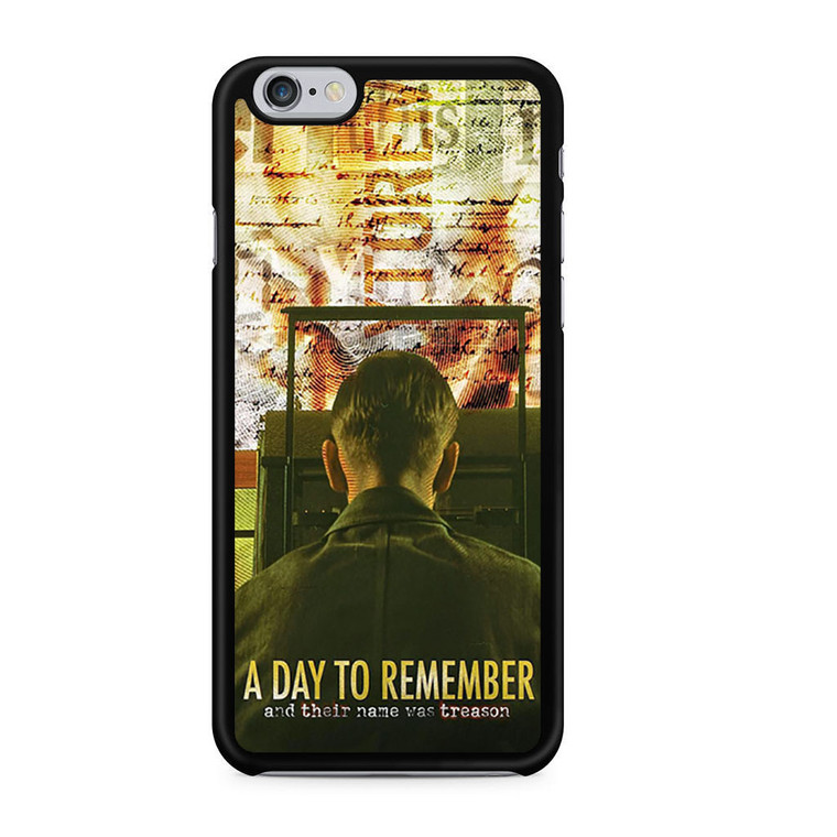 A Day To Remember Discografia iPhone 6/6 Plus Case