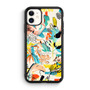 Abstract Floral Pattern iPhone 11/11 Pro/11 Pro Max Case