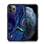 Abstract Color Paint Blue iPhone 11/11 Pro/11 Pro Max Case