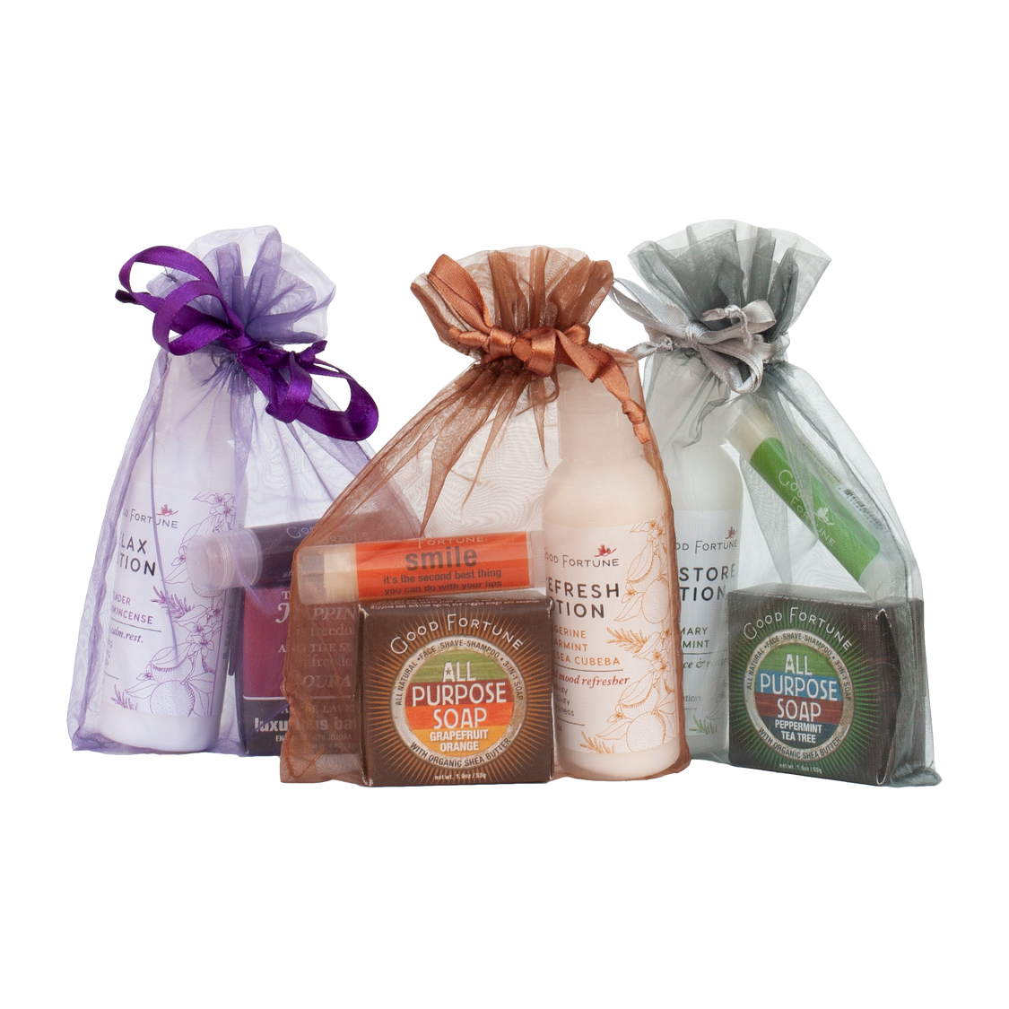 3 Must Have All Natural Gift Sets Good Fortune Soap Spa