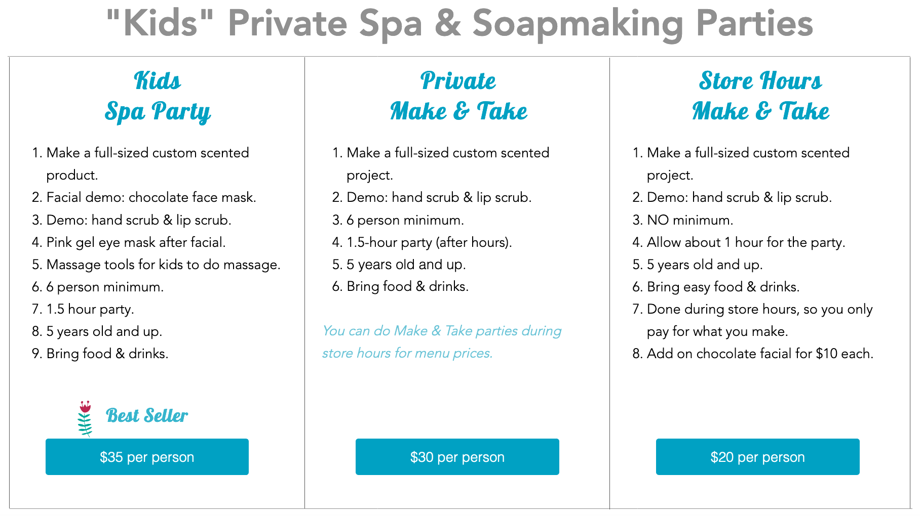 Chattanooga Spa Party