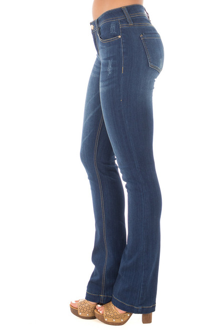 8e04a74d6c1 Dark Wash Kick Boot Jeans.  49.99 · Dark Wash Bootcut Jeans side view