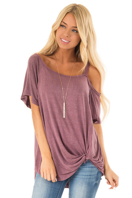 5776370b2ae9cd Boutique Cold Shoulder Tops for Women | Lime Lush
