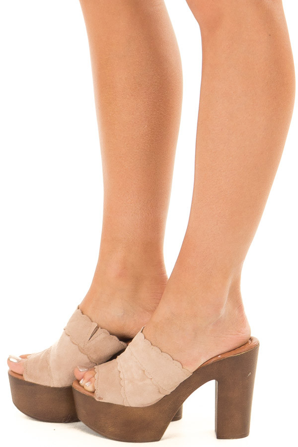 5813cdacfac3 Taupe Platform High Heel Open Toe Sandal - Lime Lush Boutique