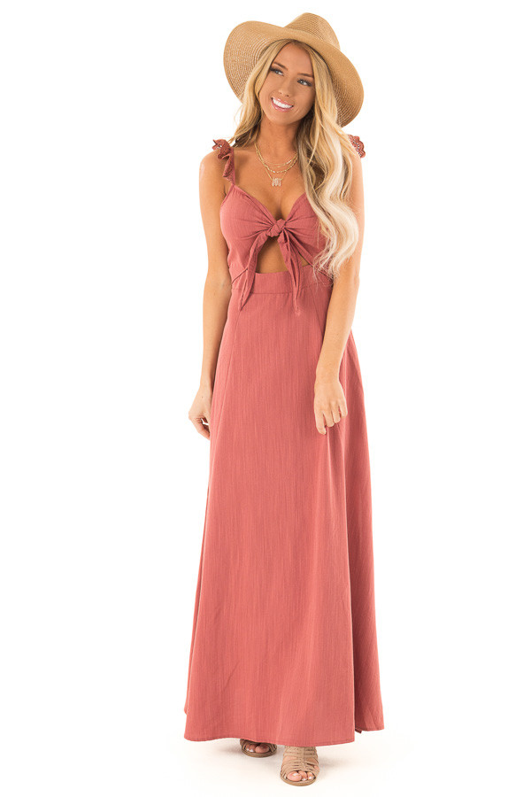 Knotted Front Dresses