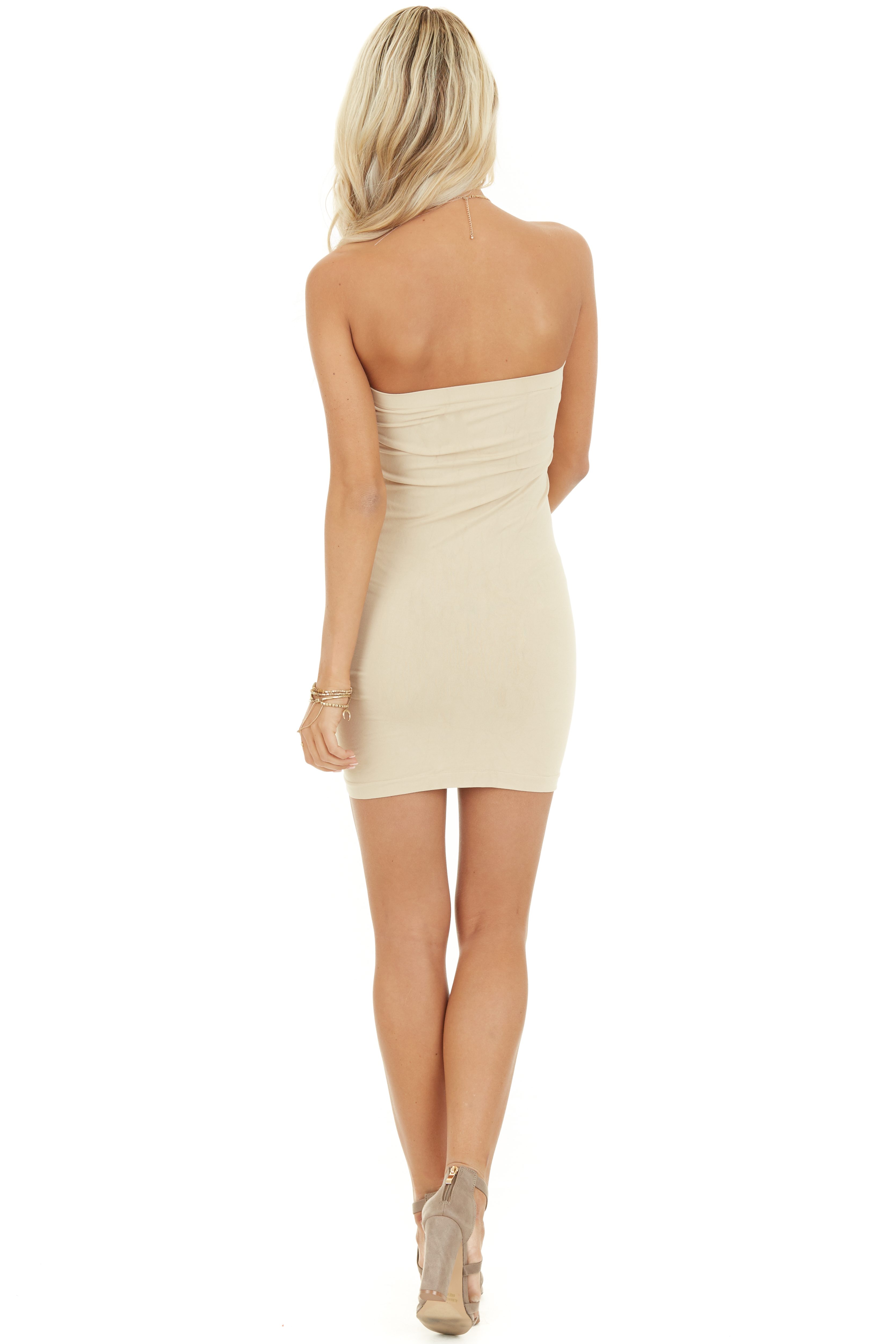 Stone Seamless Tube Dress Undergarment back