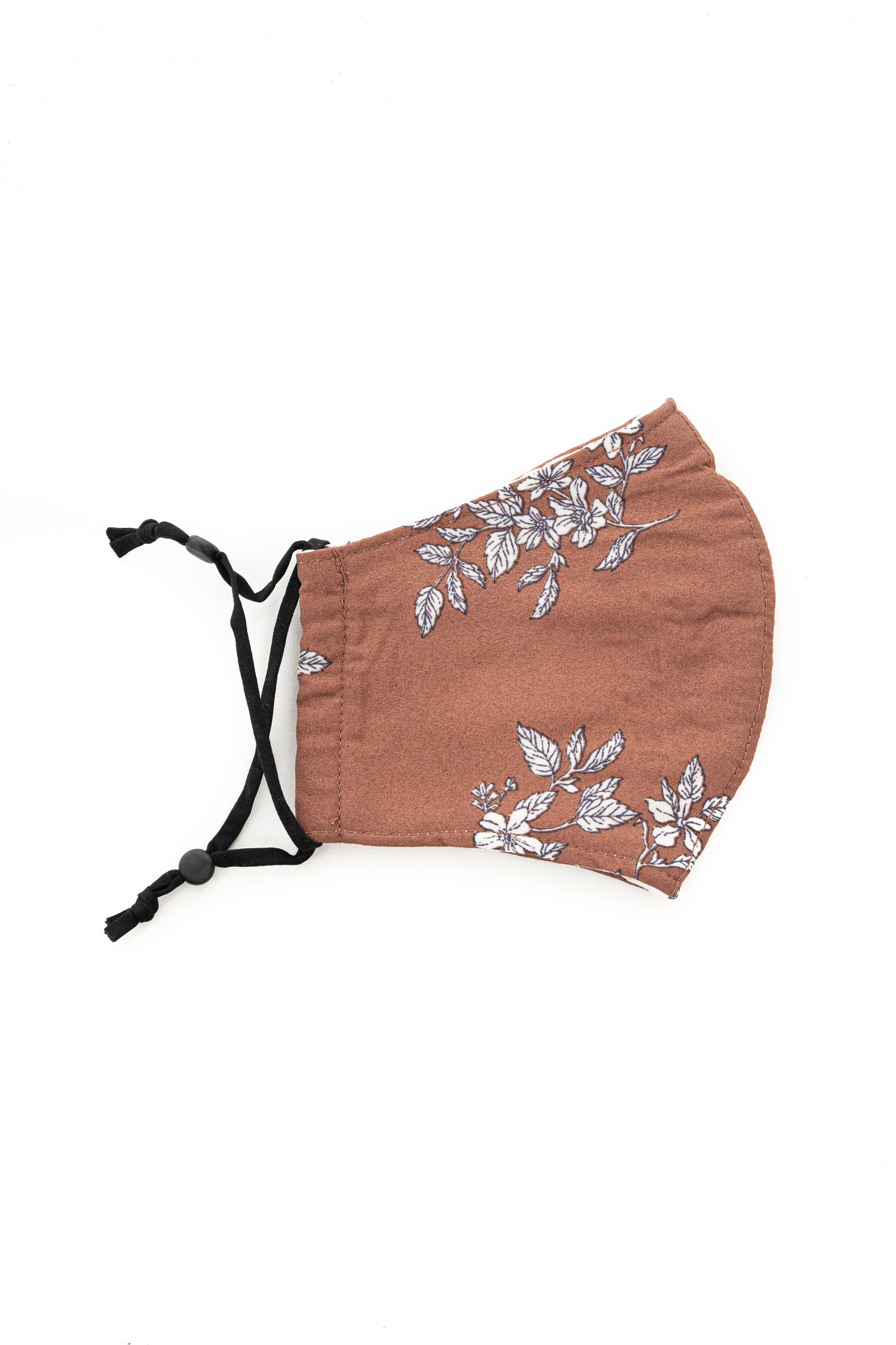 Sienna Floral Print Washable Soft Knit Face Mask