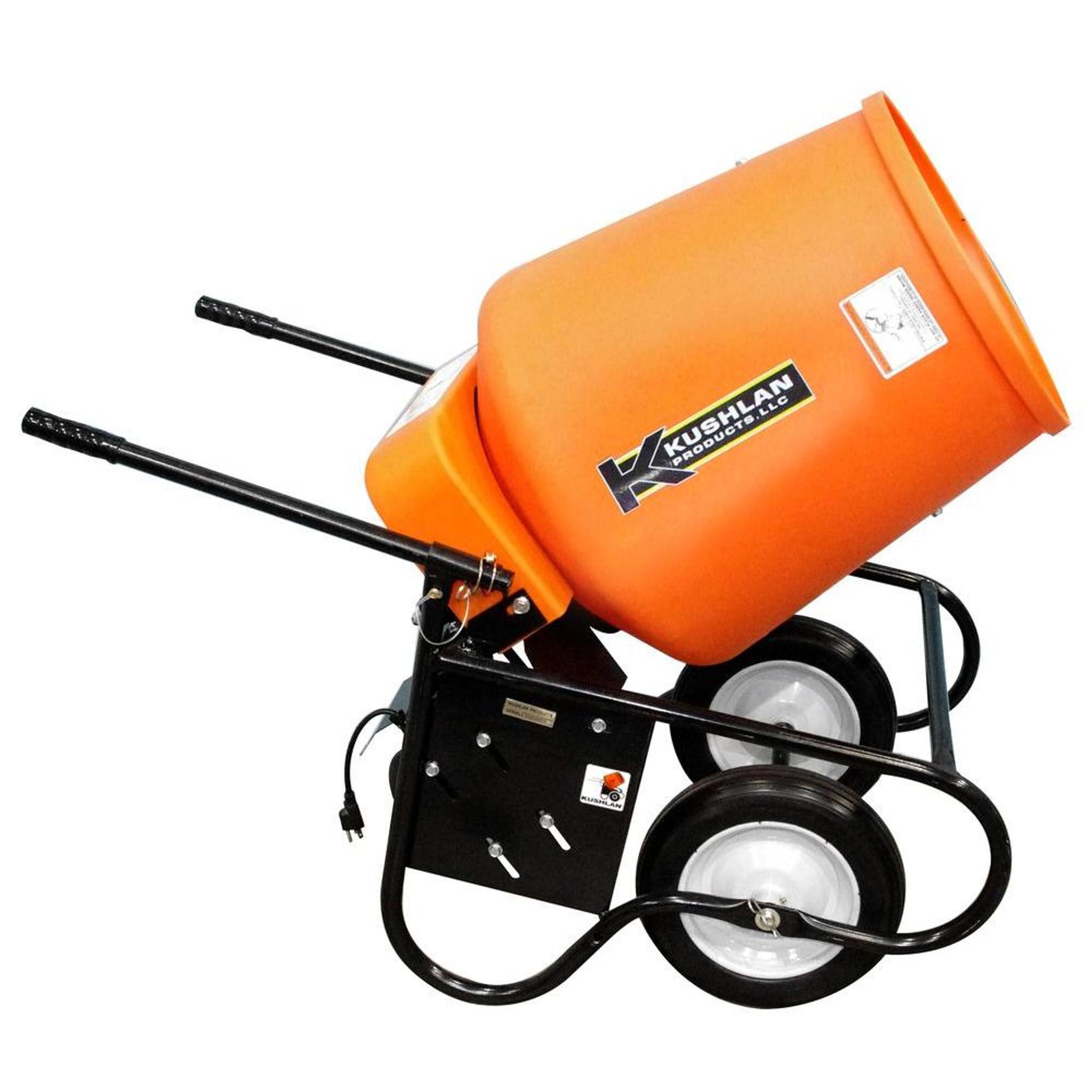 3 5 Cu Ft Electric Wheelbarrow Concrete Mixer Rental Starting At Abcwnyrental