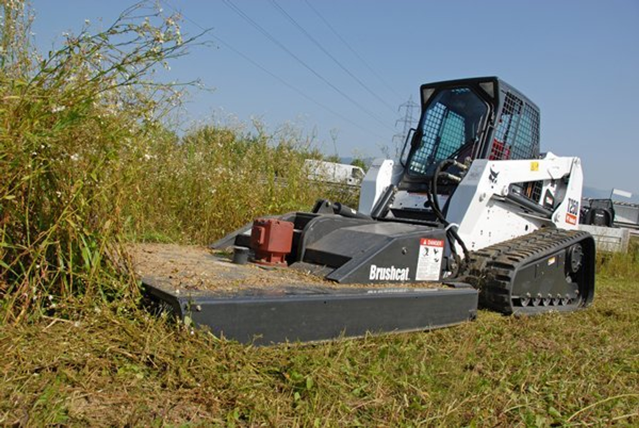 Skid Steer Brush Hog Attachment Rental Starting At