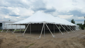 40 x 120 Sectional Canopy Pole Tent shown as 40 x 100