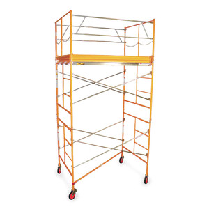 10' Rolling Scaffold Tower Rental Starting At: