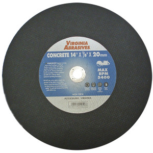 "12""X1/8""X20mm Concrete Cutoff Wheel"