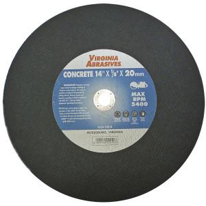 """14""""X1/8""""X20mm Concrete Cutoff Wheel"""