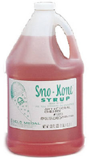 Gold Medal Gallon Cherry Sno-Kone Syrup