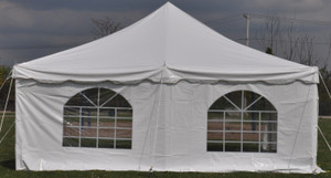 7' x 20' Cathedral Tent Sidewall Rental Starting At: